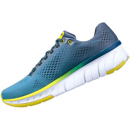Hoka One One Cavu - Chaussures running Homme - bleu sur campz.fr ! Pas Cher Confortable R4fvR